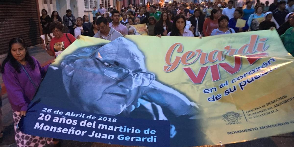 Elevan a Juzgado de Mayor Riesgo caso por muerte de monseñor Juan Gerardi