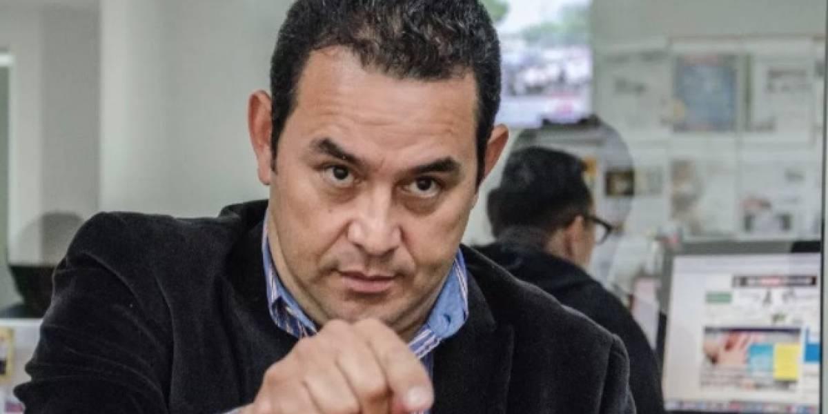 ¿Tomarán acciones contra la persona que insultó al presidente Jimmy Morales?