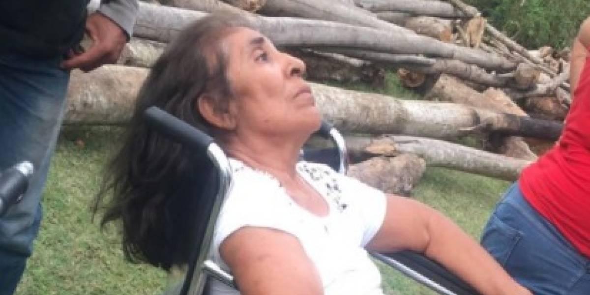 Repudian actitud de conductor que abandonó a una persona mayor en Petén