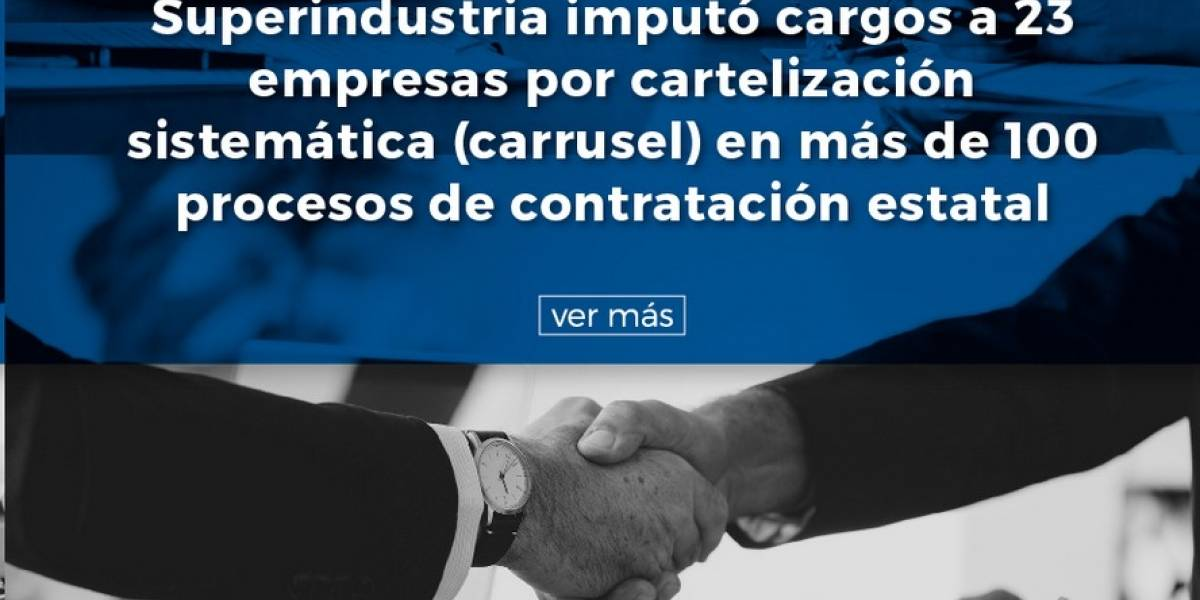 "Así cayeron 23 empresas por ""cartel"" para defraudar Estado"
