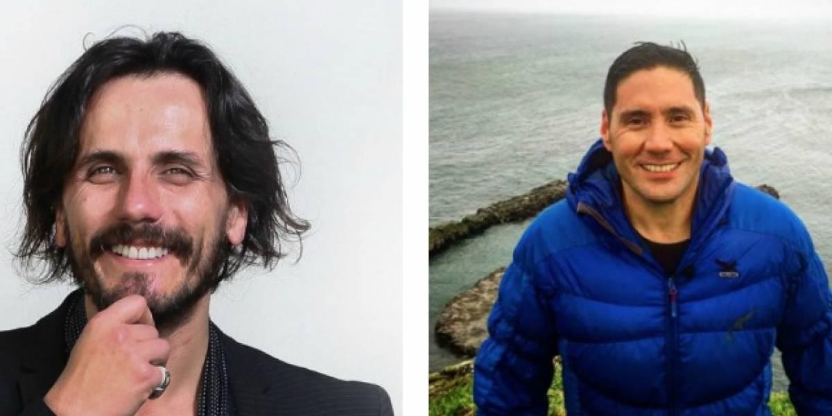Sergio Lagos y Francisco Saavedra manifestaron su apoyo a trabajadores de Canal 13 movilizados ante posibles despidos