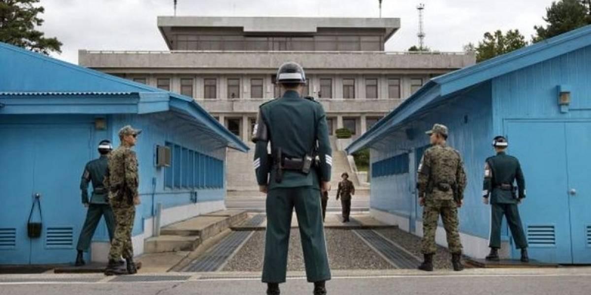 La frontera más caliente del mundo que recibe a Kim