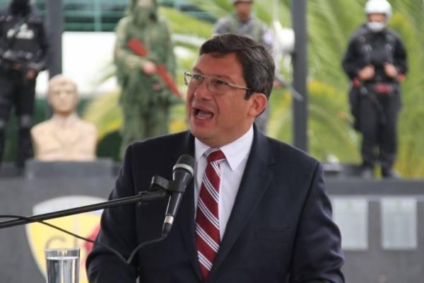 César Navas condecorado por la Policía Nacional