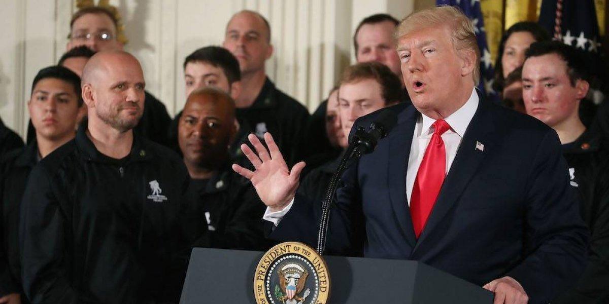 Pese a diferencias, el futbol nos une: responde EPN a Trump
