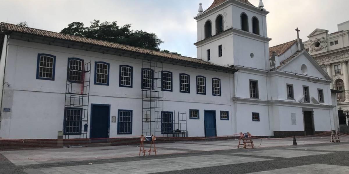 Pateo do Collegio anuncia fachada restaurada em evento no domingo