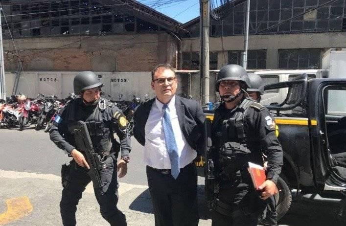 El magistrado Eddy Orellana permanece en la cárcel. Foto: Emisoras Unidas