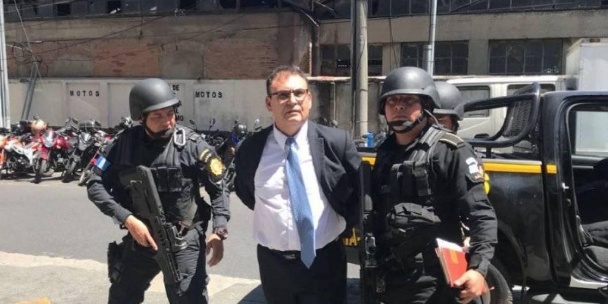 Suspenden a Eddy Orellana como magistrado de apelaciones