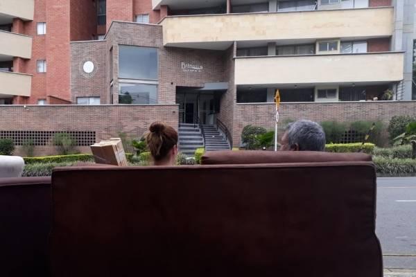 Afectados residente del edificio Bernalejas