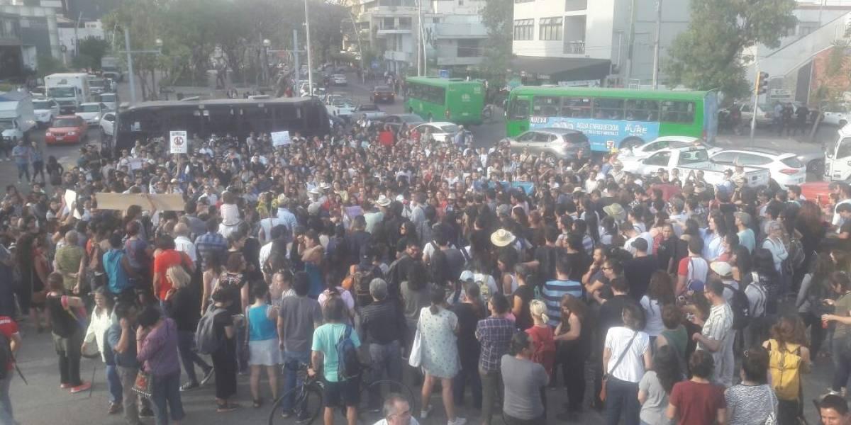 Más de 13 mil personas marchan para exigir paz en Guadalajara