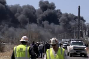 Explosión en refinería de Wisconsin