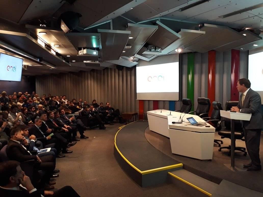 Enel explica Plan Invierno 2018