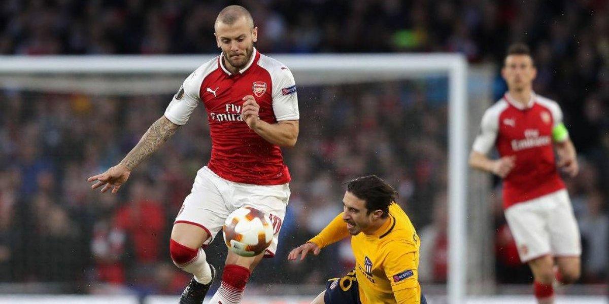 Así vivimos el empate entre Arsenal y Atlético de Madrid por la Europa League
