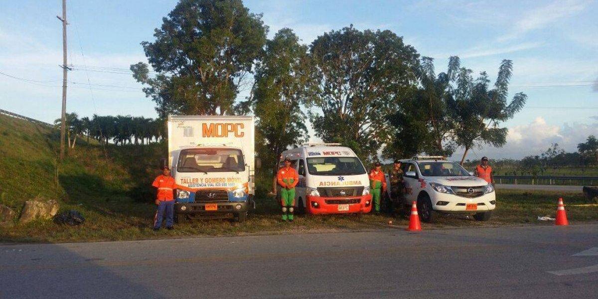 Obras Públicas reforzará vías por fin de semana largo por Día del Trabajo