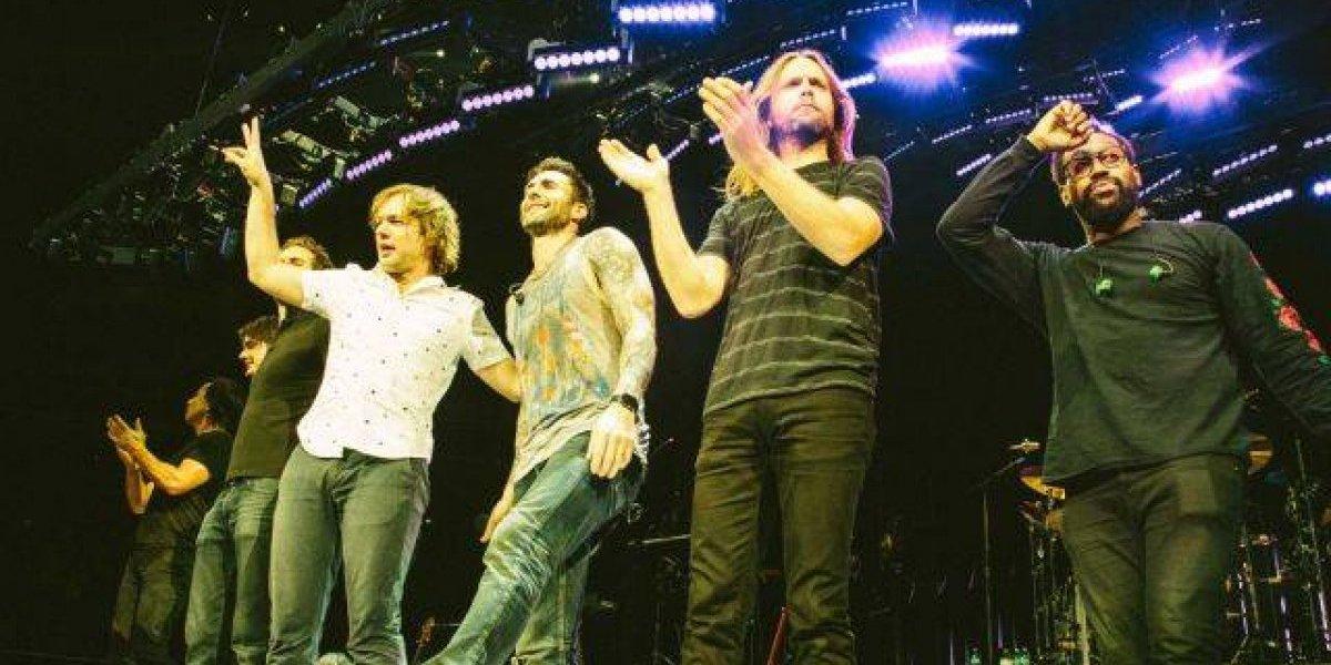 Maroon 5 desbordará su producción en Guadalajara