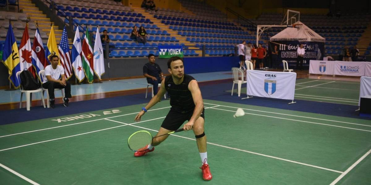 Cordón debuta con fácil victoria en el Panamericano de Bádminton