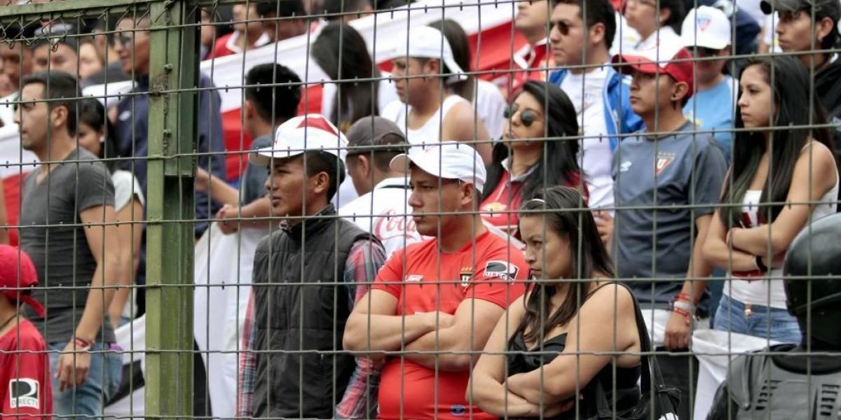 Sanción para Barra de Liga de Quito