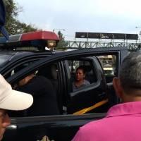 Mujer detenida señalada de robar en buses