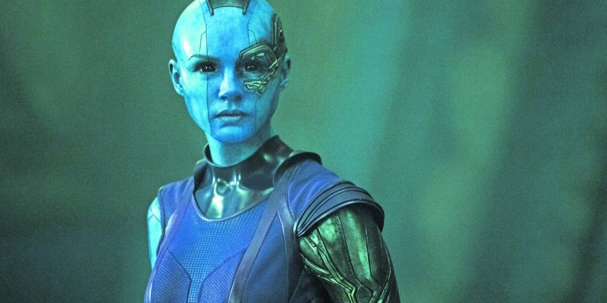 "A Karen Gillan la satisface ser una villana con Nebula en ""Avengers: Infinity War"""