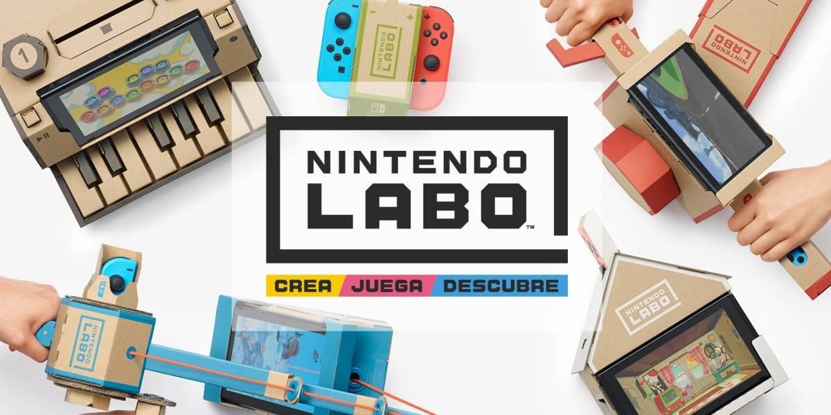 Es complicado conseguir el Nintendo Labo en México