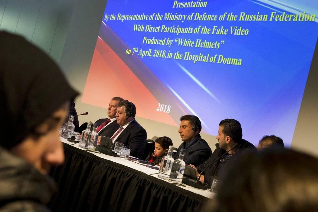 Reunión informativa de representantes ante la OPAQ