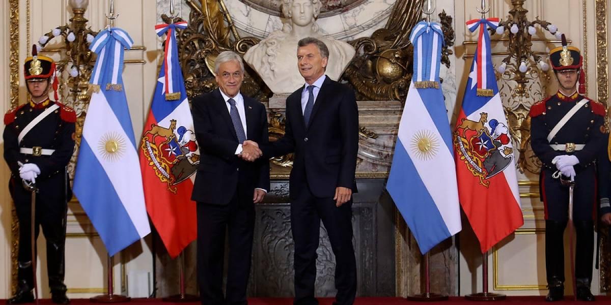 Más integrados que nunca: Piñera y Macri anuncian acuerdo de liberalización comercial entre Chile y Argentina