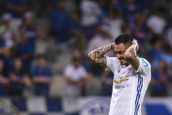 Pinilla volvió a sufrir en el Mineirao / Foto: AP