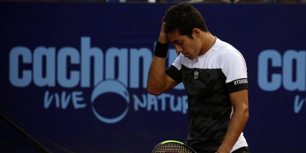 Christian Garín sufrió accidente de tránsito, jugó de inmediato y perdió en cuartos de Tallahassee