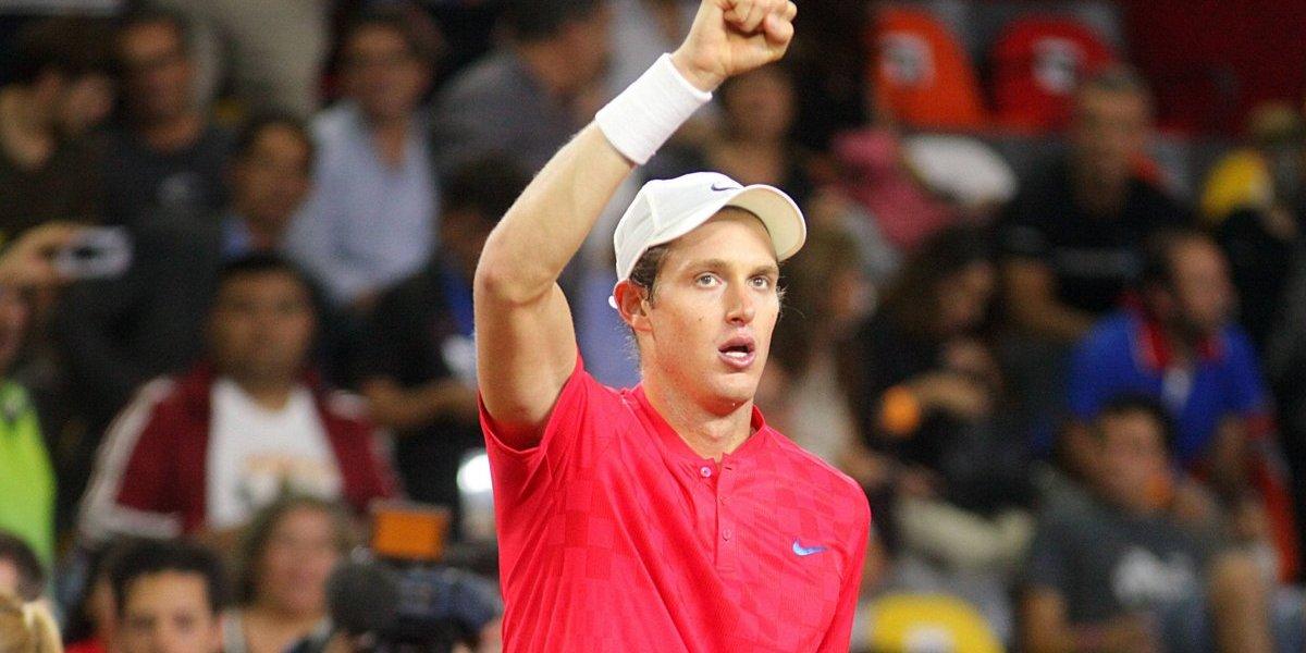 Nicolás Jarry se metió en semifinales de dobles del torneo Conde de Godó