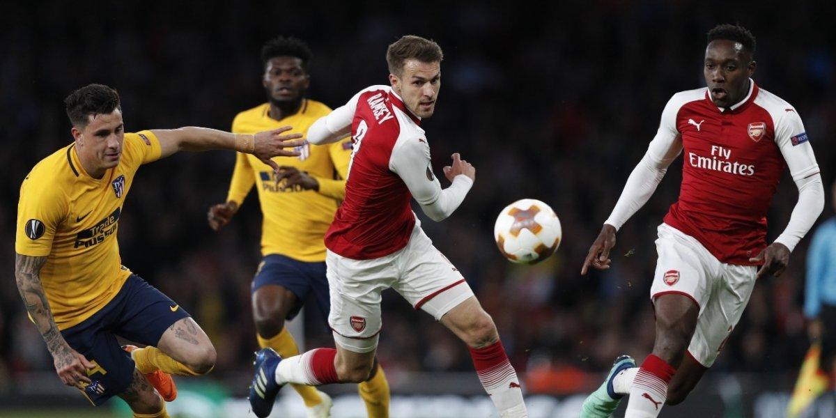 Atlético rescata un empate ante el Arsenal y la serie sigue abierta