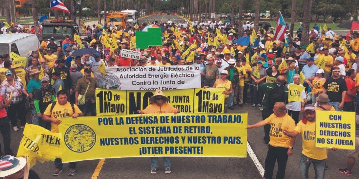Dividen protestas del 1.o de mayo