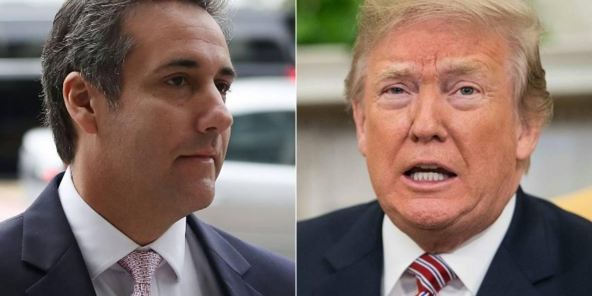 Trump elogia labor de su abogado en escándalo con actriz de cine para adultos