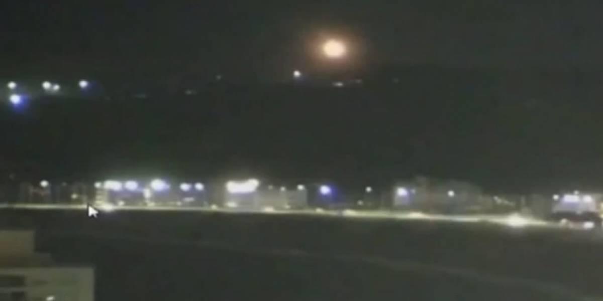 """Fuerza Aérea Uruguaya revela la verdad sobre el """"ovni"""" visto en Punta del Este"""