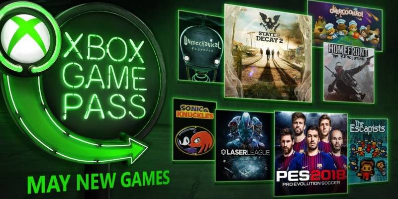 Xbox Game Pass agregará en mayo State of Decay 2, PES 2018 y más