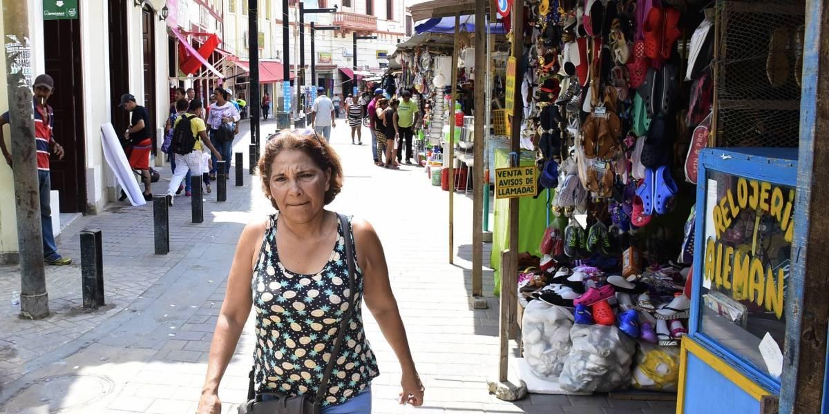 """""""Con un túmbao"""" por el centro de Barranquilla ya se puede caminar"""