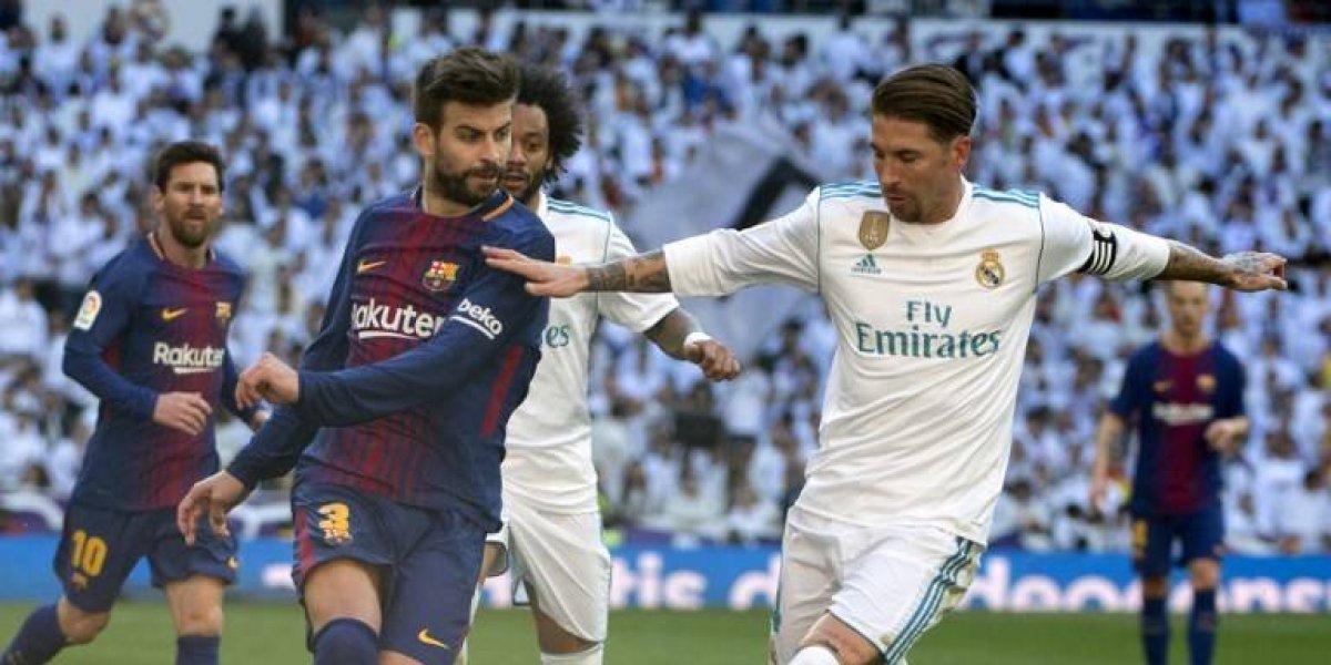 ¿A qué hora de Guatemala será el clásico FC Barcelona vs Real Madrid, Liga española 2018?