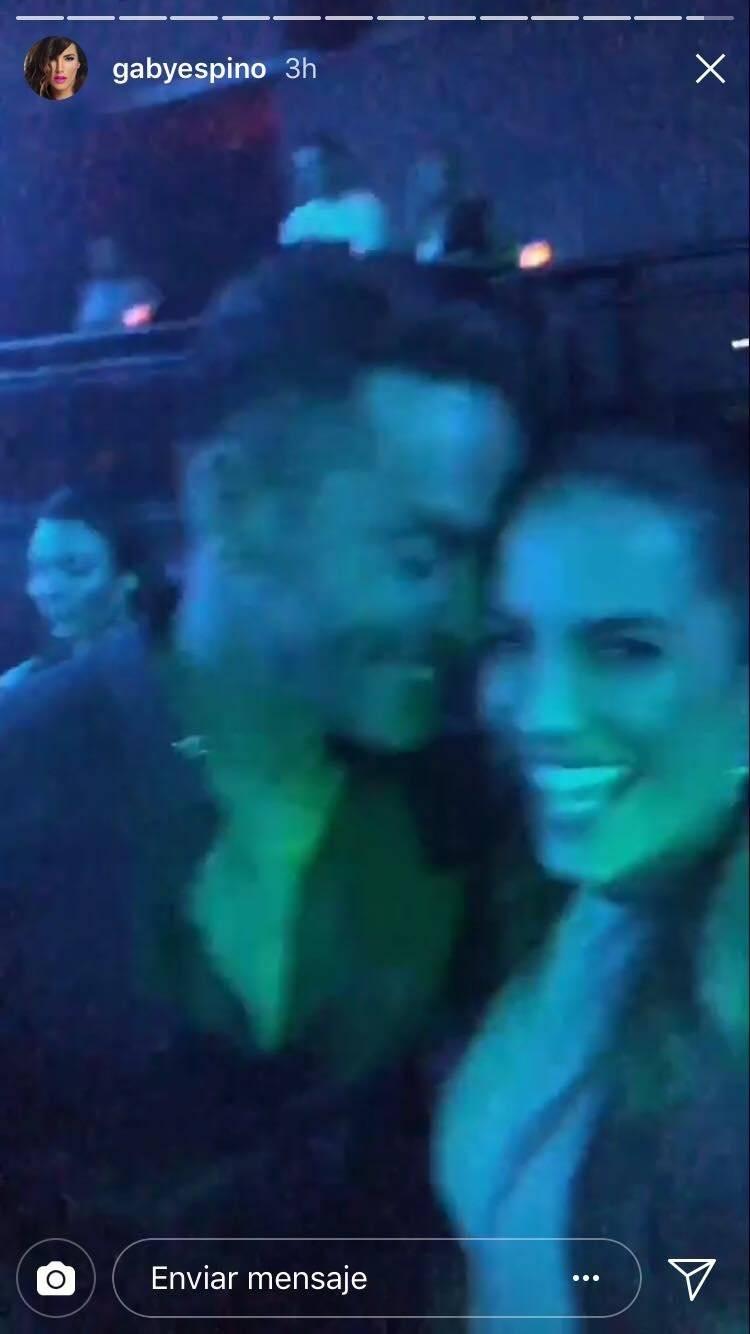 Jaime Mayol y Gaby Espino