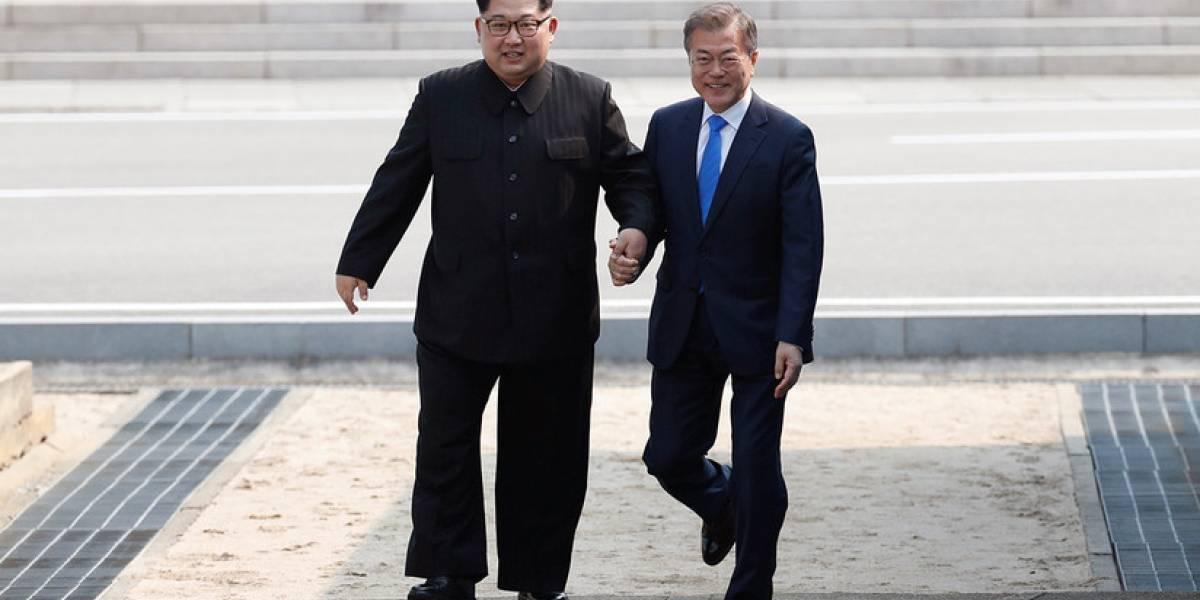 Histórica cita entre las dos Coreas: la singular salida de libreto de Kim Jong-un que sorprendió al mundo entero