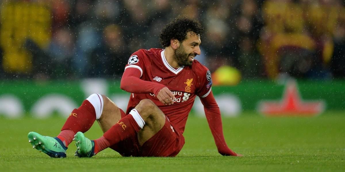 ¿Es en serio? La razón por la que Salah no jugaría la final de la Champions