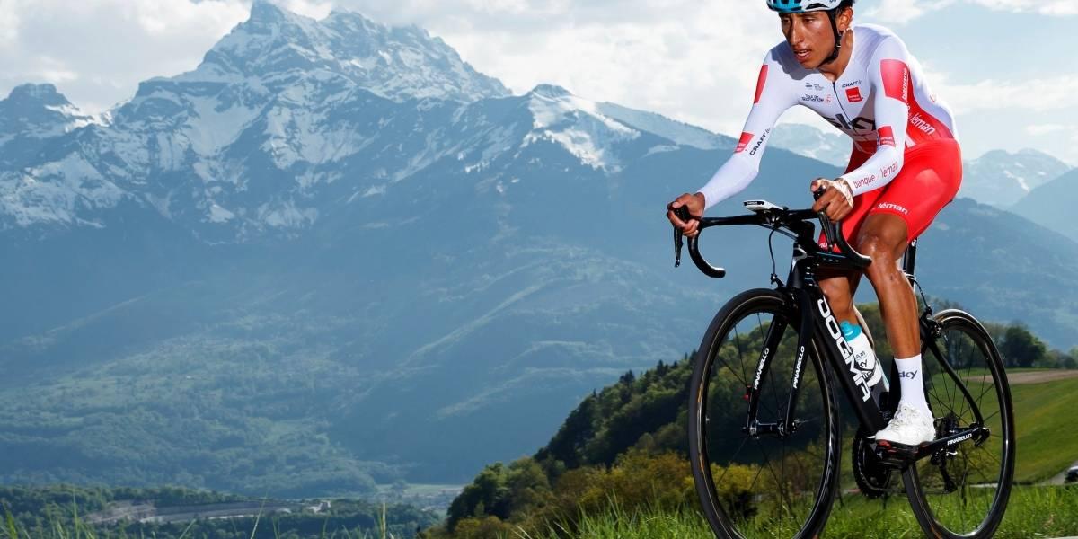 ¡El nuevo 'zipa'! Egan Bernal ganó la cronoescalada en el Tour de Romandía
