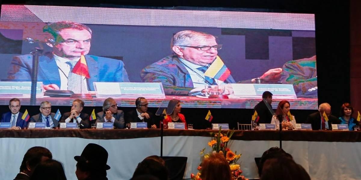La Cumbre Hambre Cero comienza en Ecuador con 9 expresidentes iberoamericanos
