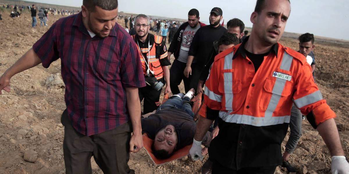 Mortales enfrentamientos en frontera de Gaza