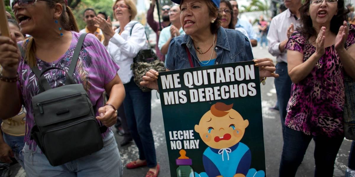Operación telaraña no encantó: oposición venezolana realiza débiles protestas contra las elecciones