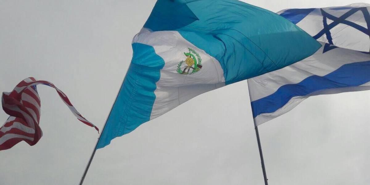 Agradecen a EE.UU. y Guatemala por el reconocimiento de Jerusalén como capital de Israel