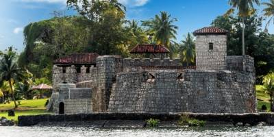 Castillo de San Felipe, en Izabal