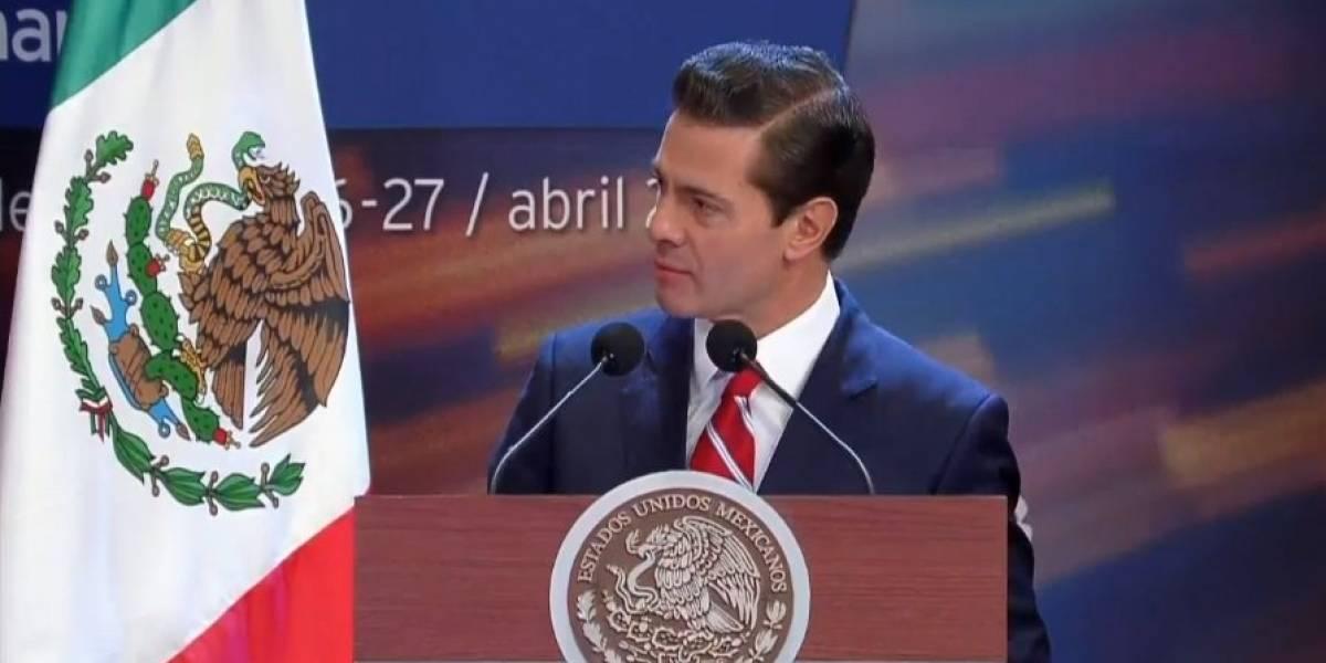 Advierte Peña Nieto sobre riesgos de políticas populistas