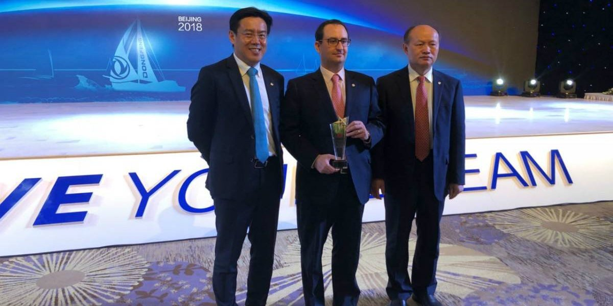 Cidef recibe doble premio por DFM en China