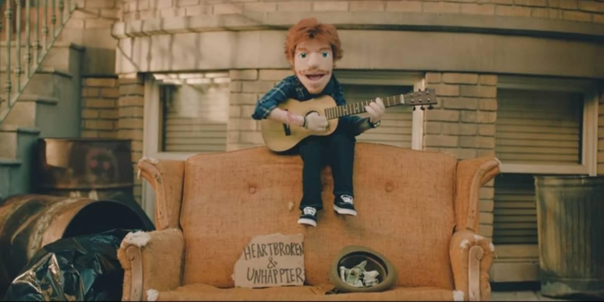 Ed Sheeran vira marionete em novo clipe; confira o resultado