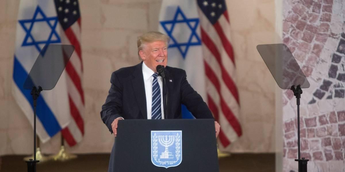 Trump afirma que podría viajar a Jerusalén para la apertura de la embajada