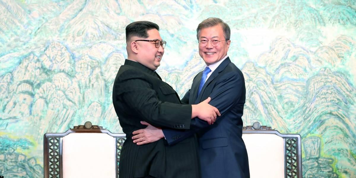 """""""Kim Jong-un para regodearse"""": Estas son las atómicas imágenes que dejó la histórica cumbre de las Coreas"""