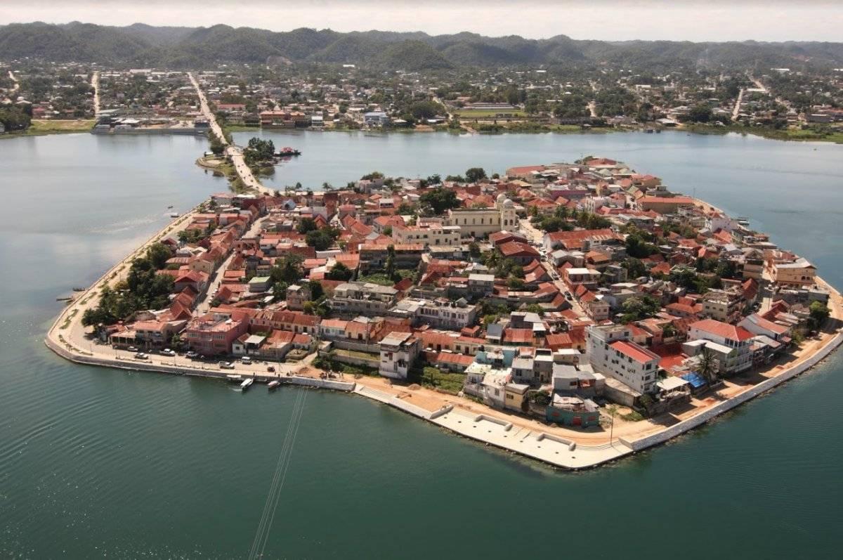 Isla de Flores, Petén Foto: Inguat